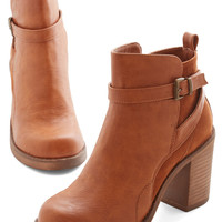 ModCloth Stride and Chic Bootie