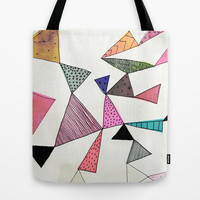 TD16 Tote Bag by Georgiana Paraschiv