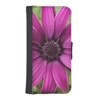 Purple Daisy Photography iPhone 5/5s Wallet Case