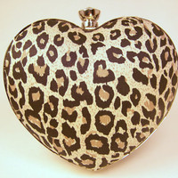 The Stella Minaudiere in Leo the Leopard by SophieAndAva on Etsy