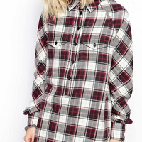 Religion | Religion Escape Longline Checked Shirt Co-Ord at ASOS