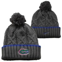 Nike Florida Gators Ladies Better Knit Beanie - Gray