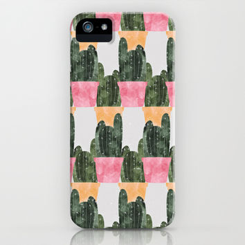 cactus iPhone & iPod Case by Grace | Society6
