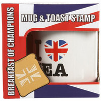 I Love Tea Mug & Toast Stamp - View All - Topshop