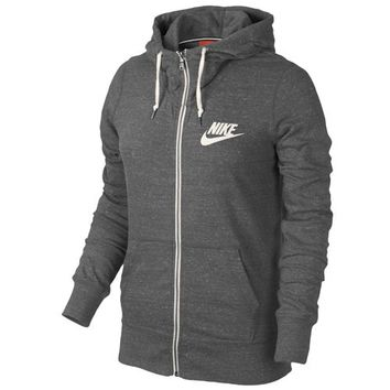 Nike Gym Vintage Full Zip Hoodie - Women's