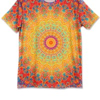 Dizzying Circle Short Sleeve Tee