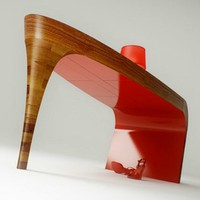 Stiletto Desk by Splinterworks
