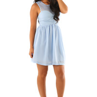 The Solenice Dress: Powder Blue | Hope's