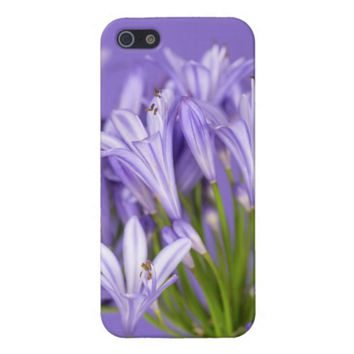 Beautiful Purple Agapanthus iPhone 5/5S Case