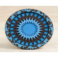 Mosaic Blue Soap Rest