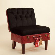 Suitcase Chair – Red Skinny â?? Seating â?? Recreate