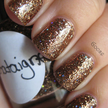 Chataigne CustomBlended Nail Polish by parissparkles on Etsy