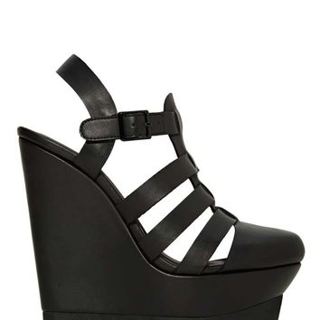 Shoe Cult A Cut Above Wedge