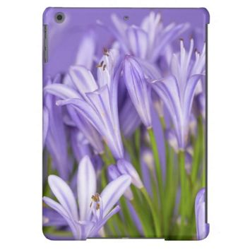 Beautiful Purple Agapanthus iPad Air Case