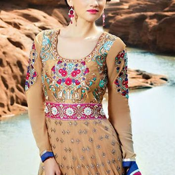 Designer Long Length Anarkali Salwar Suit