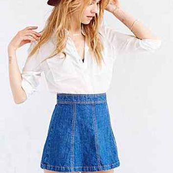 BDG Denim A-Line Mini Skirt - Urban Outfitters