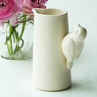 ceramic bird jug by sorbet living | notonthehighstreet.com