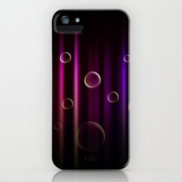 Bubbles and colors  iPhone & iPod Case by VanessaGF