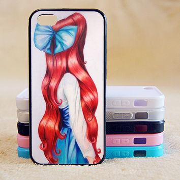 Little Mermaid,Princess,iPhone 5/ 5C / 5S Case, Phone case,iPhone 4 Case, iPhone 4S Case,Galaxy S3/S4/S5/Note,iPad,iPod,Case