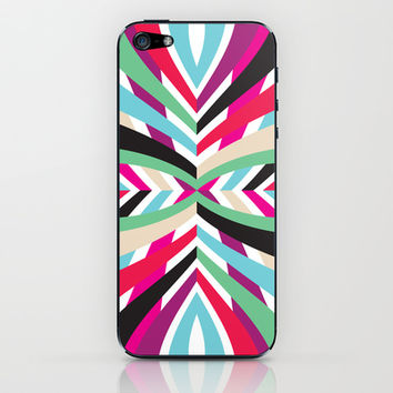 Mix #105 iPhone & iPod Skin by Ornaart
