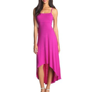 Kensie Women's Jersey Dress with Back Cutout