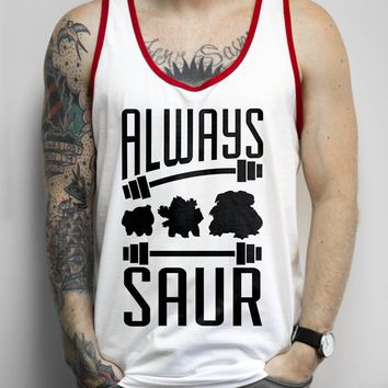 Always Saur on a Red Ringer Tank