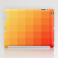 Two Tone Fire iPad Case by Colorful Art | Society6