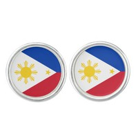 Filipino flag Cufflinks