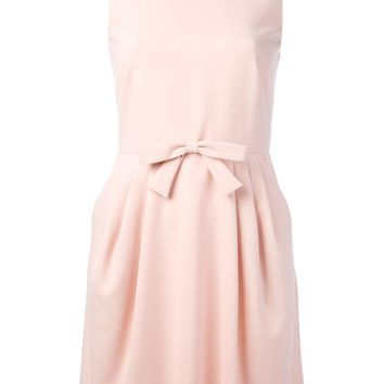 Red Valentino Sleeveless Crepe Dress - Changing Room - Farfetch.com