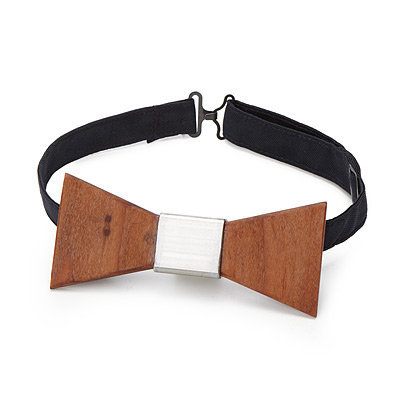 WOOD BOW TIE | Necktie, Bowtie, Personal Style, Unusual, Casual Fashion, Men, Redwood. | UncommonGoods