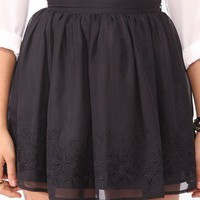 Short Embroidered Skirt | FOREVER21 - 2000047543