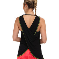 Trina Turk Cross Back Draped Tank