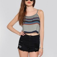 Athens Crop Top