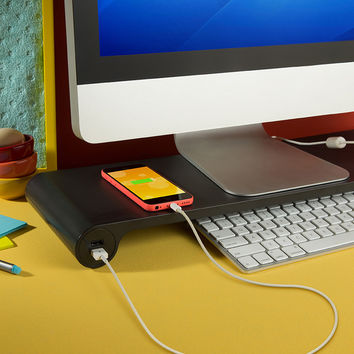Space Bar - Monitor stand + 6-port USB hub | Quirky