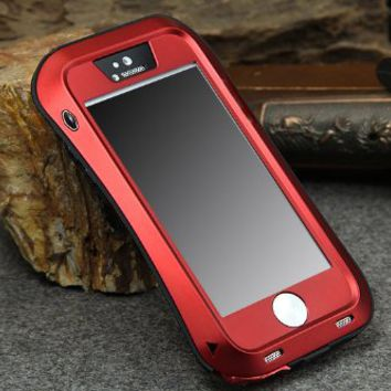 Novelty Newest metal extreme shockproof case for apple iphone5s military heavy duty case for iphone5…