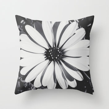 Waiting for the night  Throw Pillow by  Loredana