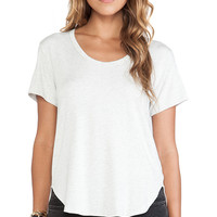 LNA Rinaldi Tee in Light Gray