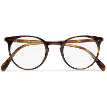 Oliver Peoples - Sir O'Malley Round-Framed Acetate Glasses | MR PORTER