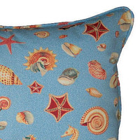 Sea Shell Print Nap Pillow