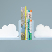 Cloud Book Ends Set of Two by ShopLittles on Etsy