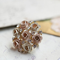 rose petal romance ring - $12.99 : ShopRuche.com, Vintage Inspired Clothing, Affordable Clothes, Eco friendly Fashion