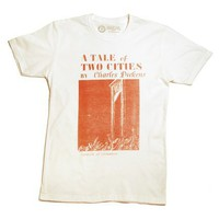 A Tale of Two Cities book cover t-shirt
