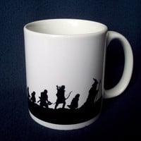 Fellowship of the Ring mug by GelertDesign
