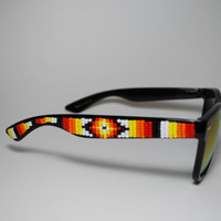 hippie tribal sunglasses