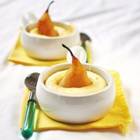 Verses from my Kitchen: Cinnamon Poached Pear Cakes