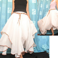 Circle Long Skirt Inspiration Maxi Skirt Party Dress by myuniverse