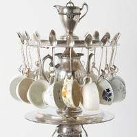 Tea Time Chandelier-Anthropologie.com