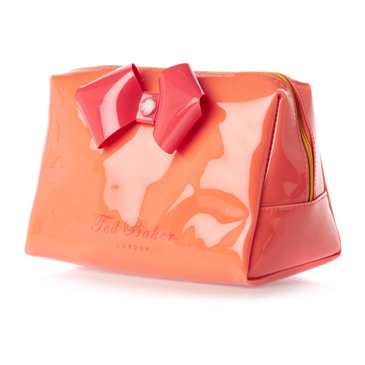 Ted Baker Tamera Large Bow Wash Bag - Orange