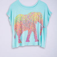 Elephant Mirage Tee