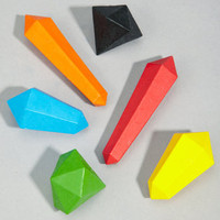 crystal crayon set